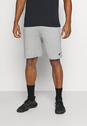 DRY FIT - Pantalón corto de deporte - grey heather