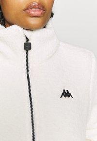 Kappa - VALANA - Fleece jacket - snow white - 6