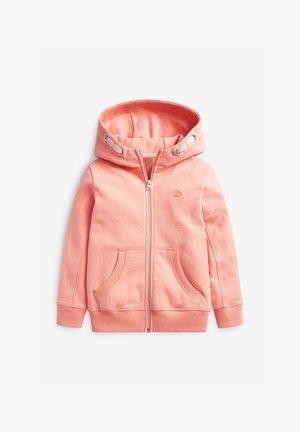 FLURO - Zip-up hoodie - coral