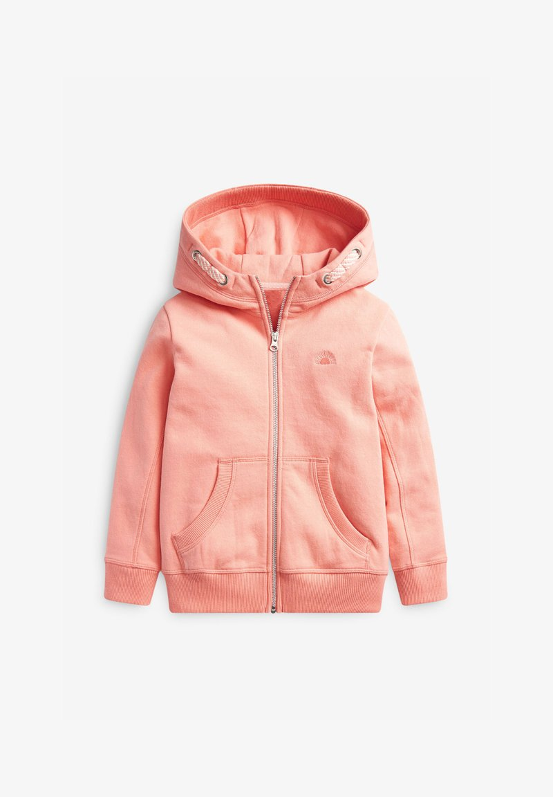 Next - FLURO - Zip-up hoodie - coral