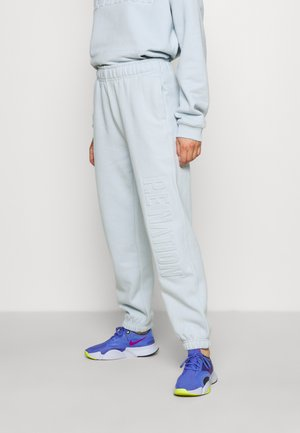 FADEAWAY TRACKPANT - Tracksuit bottoms - blue pale