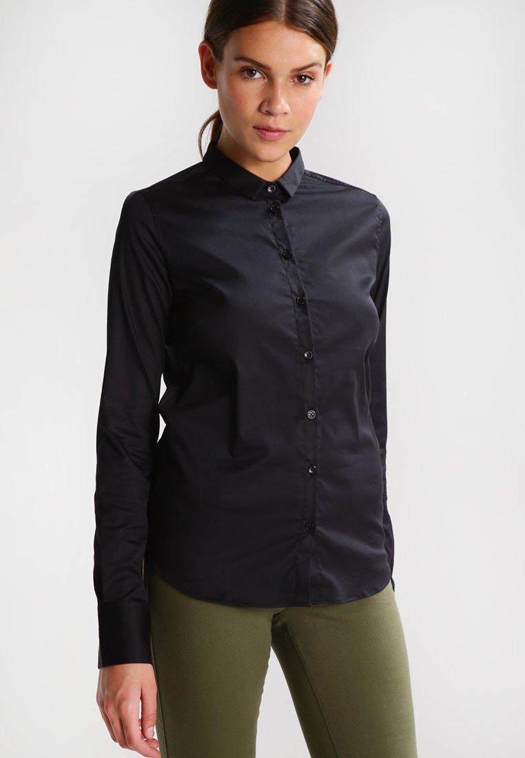 Women TILDA - Button-down blouse - black