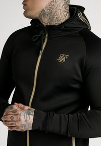 SIKSILK - ZIP THROUGH - Cardigan - black/gold - 3