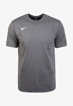 CLUB19 HERREN - Sports shirt - charcoal heather/white