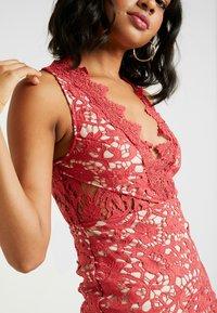 Love Triangle - DANUBE MINI DRESS - Cocktail dress / Party dress - brick red - 5