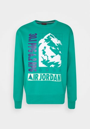MOUNTAINSIDE CREW - Sudadera - neptune green