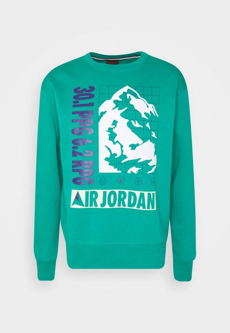Jordan - MOUNTAINSIDE CREW - Sweatshirt - neptune green