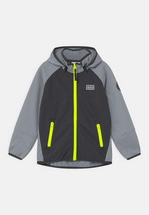 SKY UNISEX - Soft shell jacket - light grey