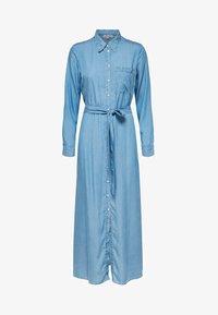 Selected Femme - Vestito lungo - light blue - 4