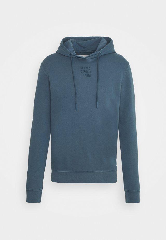 LONG SLEEVE HOOD - Sweatshirt - grayish petrol