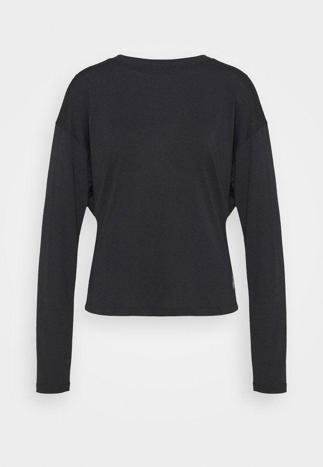 SUPREMIUM LONG SLEEVE - Sports shirt - night black
