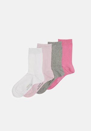 SOFT SOCKS 4 PACK - Socks - chateau rose