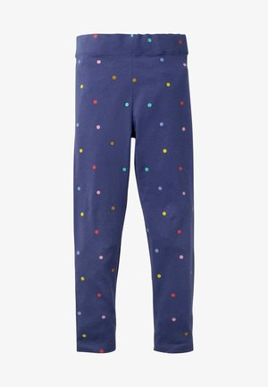 Leggings - Trousers - segelblau, konfettitupfen