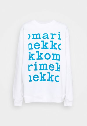 KIOSKI LOHKARE LOGO PLACEMENT  - Sweatshirt - off white/bright blue