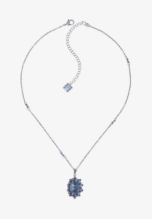 Necklace - blau grau