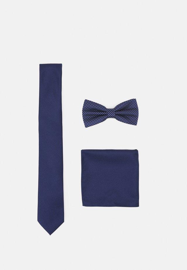 SET - Stropdas - dark blue