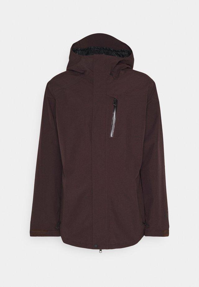 GORE-TEX JACKET - Snowboard jacket - black red