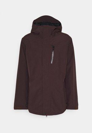Snowboard jacket - black red