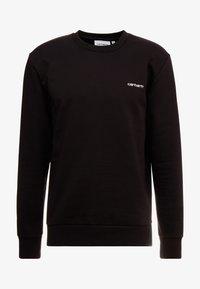 Carhartt WIP - SCRIPT EMBROIDERY - Sweatshirt - black/white - 3