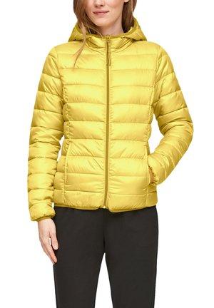MIT KAPUZE - Winter jacket - yellow