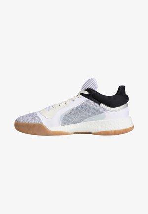 MARQUEE BOOST - Stabiliteit hardloopschoenen - off white / footwear white / core black