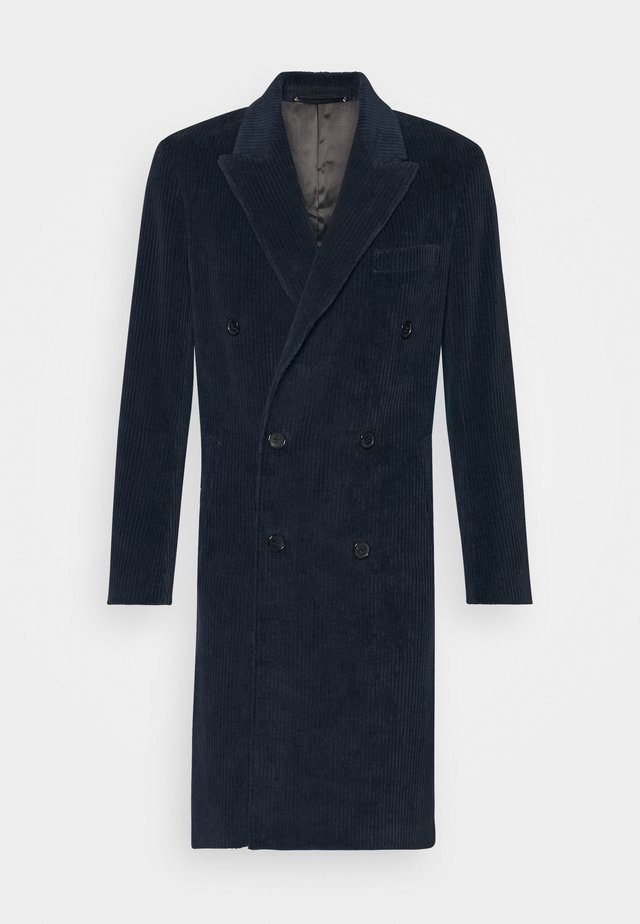 GENTS OVERCOAT - Manteau classique - dark blue