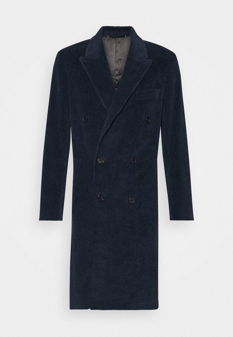 Paul Smith - GENTS OVERCOAT - Zimní kabát - dark blue