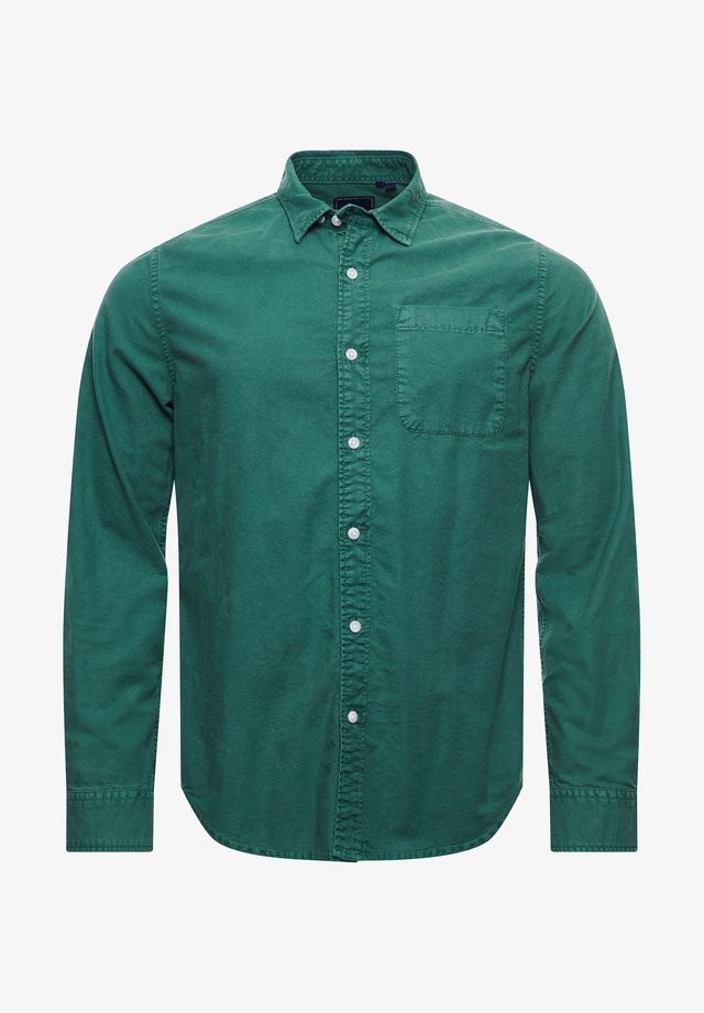 LINE DRIED OXFORD - Shirt - ivy