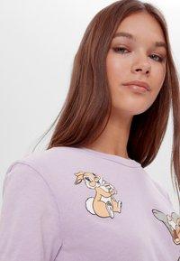 Bershka - DISNEY'S BAMBI - Print T-shirt - mauve - 3
