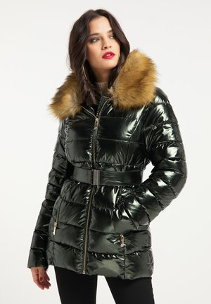 Winter jacket - smaragd