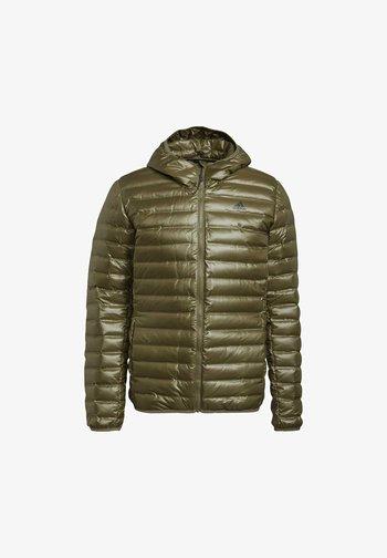 VARILITE HOODED DOWN JACKET - Winter jacket - focus olive