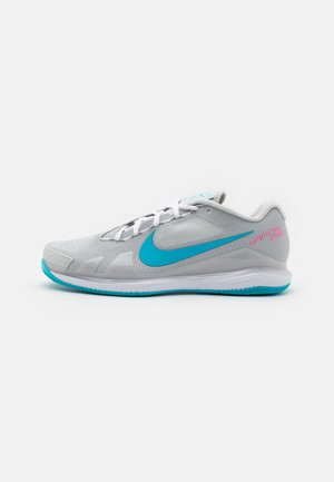 COURT AIR ZOOM VAPOR PRO - Multicourt tennis shoes - photon dust/chlorine blue/grey fog