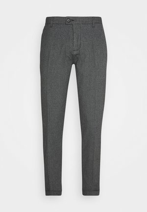 ERCAN PANTS - Trousers - black grindel