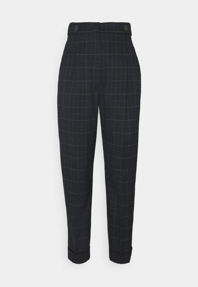 VERRES - Pantalon classique - blau