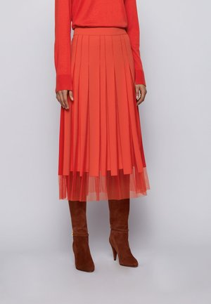 VOBY - A-line skirt - dark orange