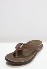Reef - J-BAY - Sandály s odděleným palcem - camel - 2