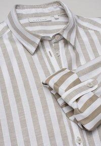Eterna - MODERN CLASSIC - Button-down blouse - khaki weiss - 1