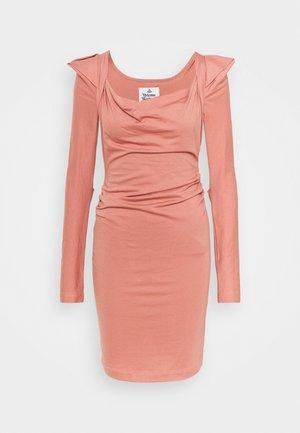 ELIZABETH DRESS - Vestito di maglina - dusty pink
