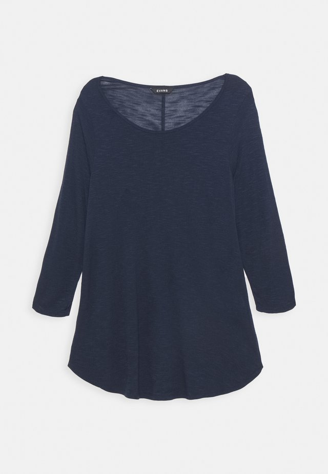 TEE - T-shirt à manches longues - navy