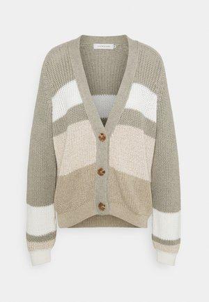 LNEMMELINE CARDIGAN - Cardigan - khaki