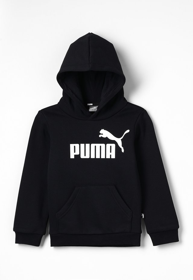 LOGO HOODY  - Luvtröja - cotton black