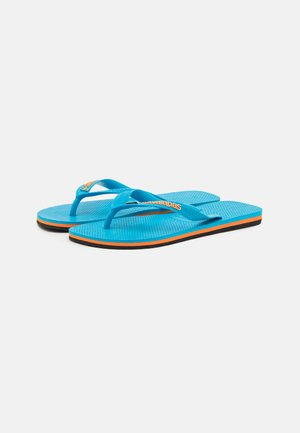 BRASIL LAYERS UNISEX - Tongs - turquoise