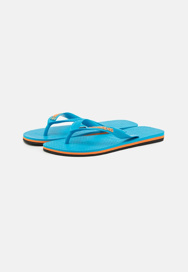 BRASIL LAYERS - Teenslippers - turquoise