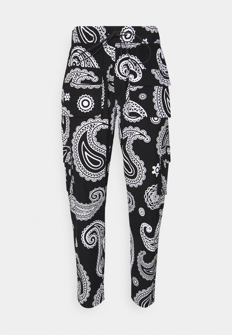 Night Addict - ROZAY - Pantaloni cargo - black