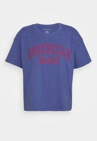 American Eagle - COLOR ON COLOR BRANDED - Print T-shirt - blue - 3