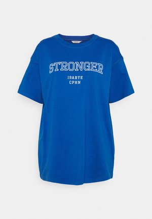 ENKULLA TEE - Print T-shirt - blue stronger