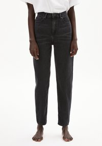 ARMEDANGELS - MAIRAA - Straight leg jeans - washed down black - 0