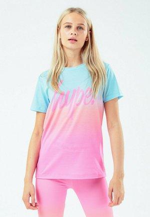 FRUIT - T-shirt med print - blue