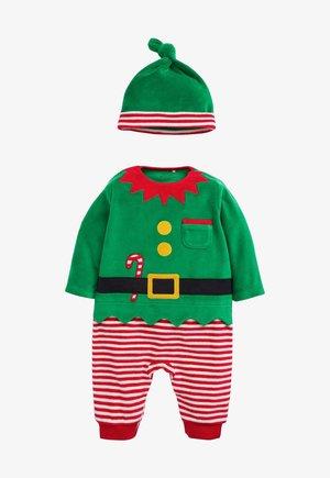 2 PACK - Sleep suit - green