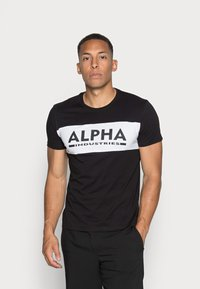Alpha Industries - Printtipaita - black - 0
